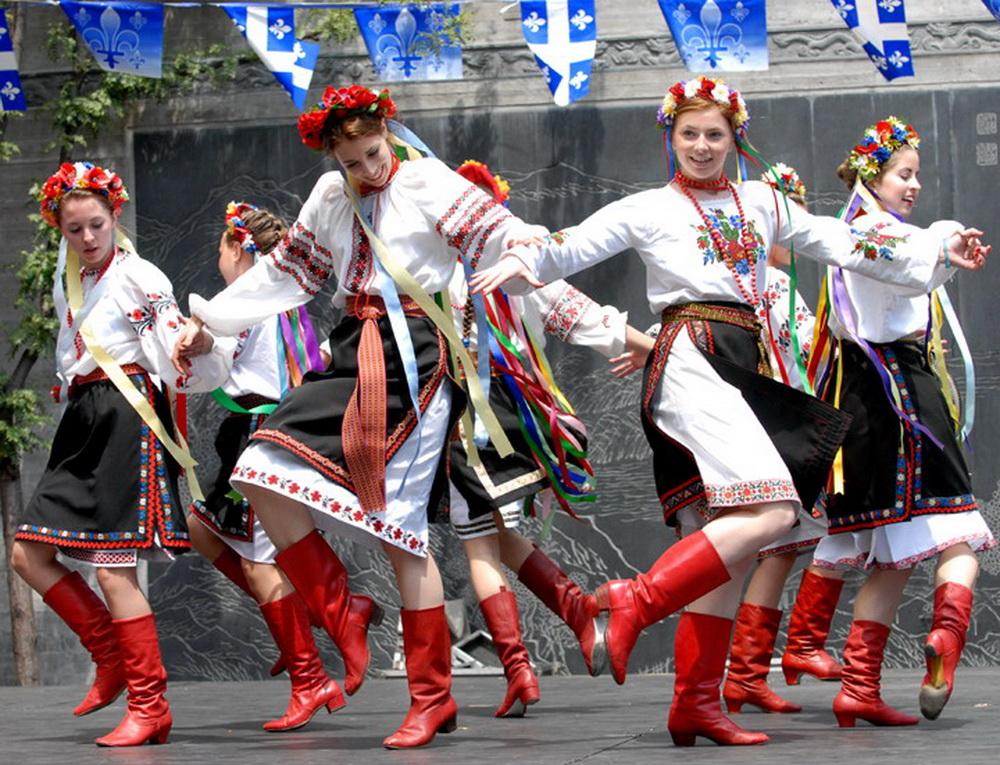 Украинские Народные Танцы Движения Видео
