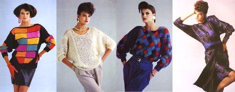 мода 80 х годов фото в россии